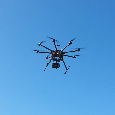 Oktokopter DJI S1000 Spreading Wings